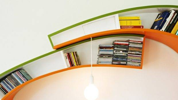 Curved Bookcase Atelier Bookworm Captivatist