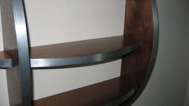 Curved Shelf Mfike Lumberjocks Woodworking Community