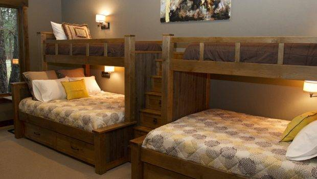 Custom Built Bunk Beds Two Twins Over Queens Drawer