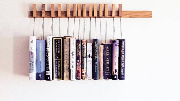 Custom Made Wooden Book Rack Bookshelf Agustavfurniture