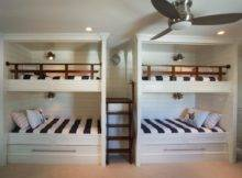Custom Nautical Bunk Bed Bedroom Four Beds Two Trundle