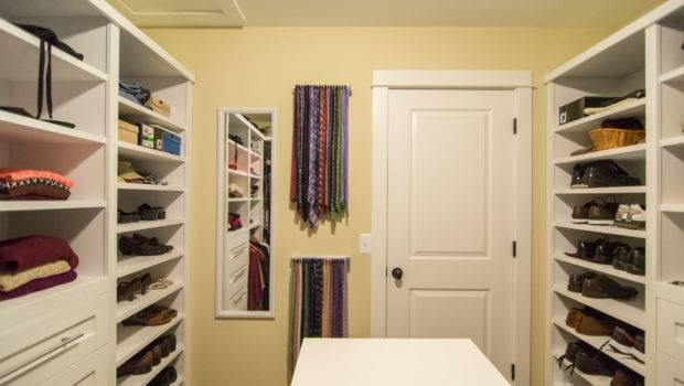 Custom Walk Closet His Hers Island