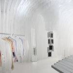 Cut Cloud Fashion Interior Design Ken Okada Boutique Paris