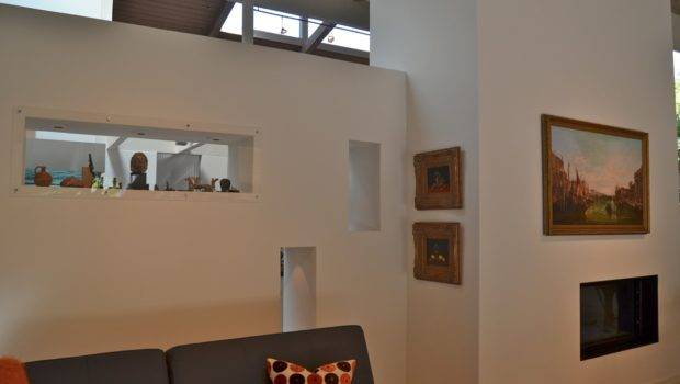 Cut Outs Wall Between Lounge Living Area Repeat