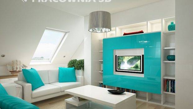 Cute Groovy Small Space Apartment Designs