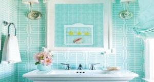 Cute Turquoise Bathroom Awesome Colorful Design Ideas