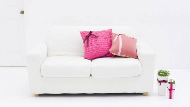 Cute White Sofa Great Your Computer