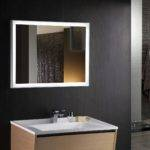 Cuzio Lighted Vanity Mirror Led Bathroom Horizontal