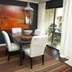 Dark Gray Dining Room Southwestern Accents Lantern Hgtv