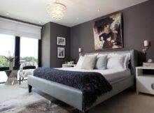Dark Gray Walls Bedroom Interior Designs Your Home