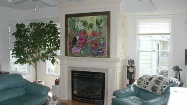 David Ramsay Cabinetmakers Media Rooms Oil Painting Over