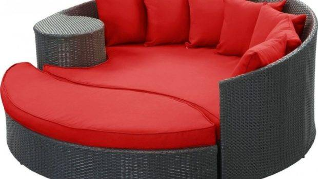 Daybed Canopy Round Outdoor Melbourne