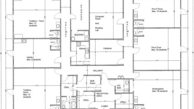 Daycare Floor Plans Plan Mindexpander Day Care Center