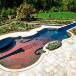 Dazzling Swimming Pool Replica Century Stradivarius Violin