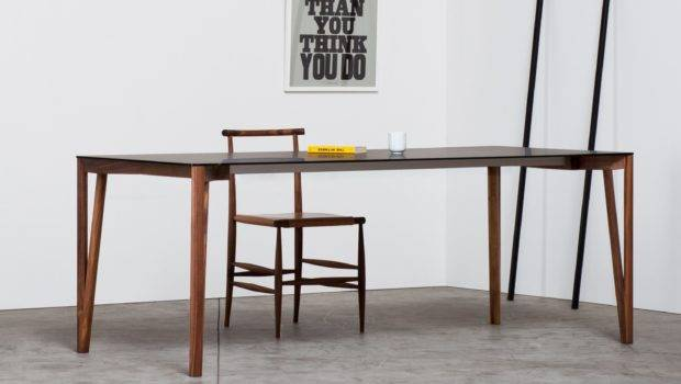 Decapo Wood Glass Dining Table Klarity Furniture