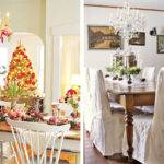 Decor Christmas Table Decorating Decorations