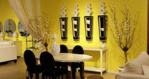Decor Yellow Wall Painting Designs Ideas