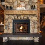 Decorate Fireplace Hearth Ideas Stone