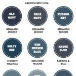 Decorate Navy Blue Guide Paint Colors