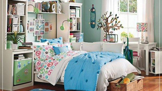 Decorate Teenage Girl Bedroom Home Decoration Ideas