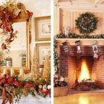 Decorate Your Mantel Chimney Christmas Let Celebrate