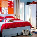 Decorate Your Own Bedroom Home Red White Stripe Modern