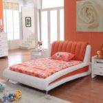 Decorate Your Own Home Bedroom Orange Sweet