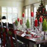 Decorating Christmas Table Decorations Elegant