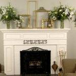 Decorating Fireplace Mantel White