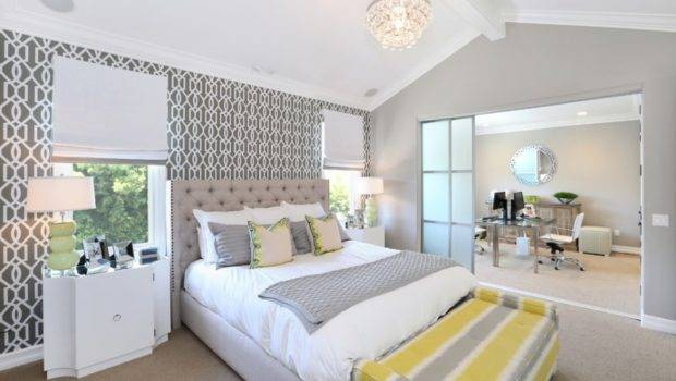 Decorating Grey Yellow Bedroom Know Good