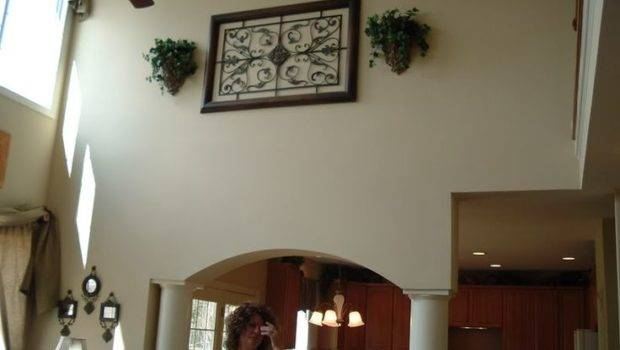 Decorating High Walls Ideas Cathedral Ceilings
