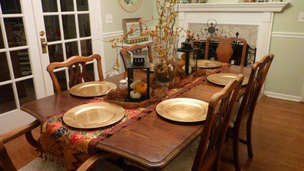 Decorating Ideas Dining Room Table