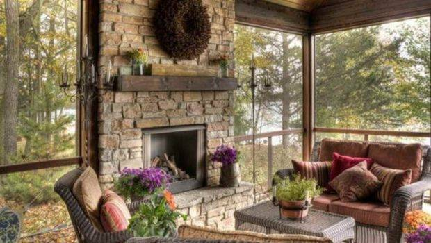 Decorating Ideas Fireplace Mantels Stone