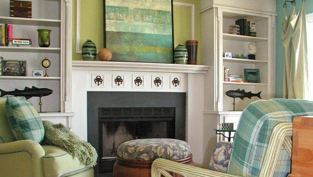 Decorating Ideas Fireplace Mantels Walls Diy Home Decor