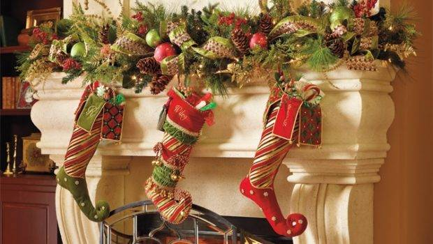 Decorating Ideas Frontgate Holiday Decor Pinterest Mantels