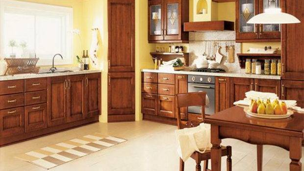 Decorating Ideas Kitchen Yellow Wall Italian
