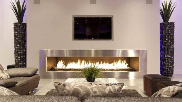 Decorating Ideas Living Room Brick Fireplace All