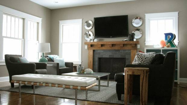 Decorating Ideas Living Room Fireplace Home