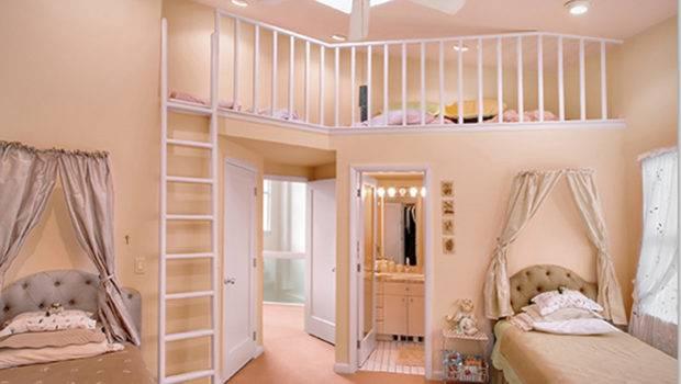 Decorating Ideas One Total Luxury Girl Room