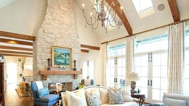 Decorating Vaulted Ceiling Living Room Meliving