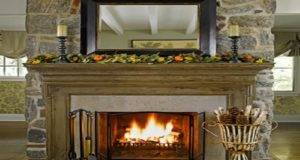 Decorating Your Fireplace Mantel Home Designs
