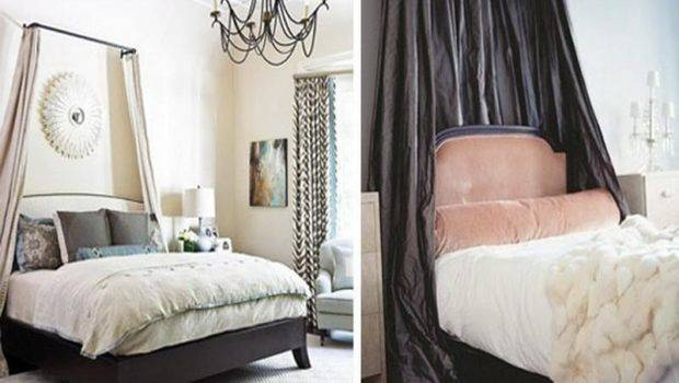 Decoration Diy Canopy Bed Bedroom Curtains