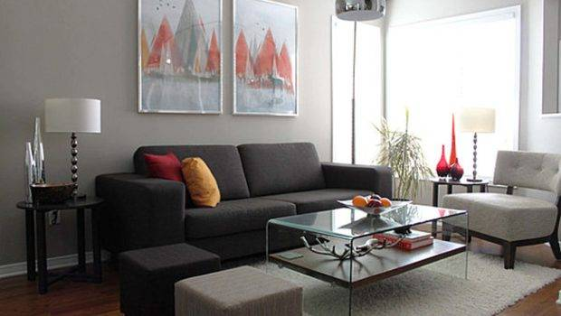 Decoration Gray Wall Color Schemes Combinations Furnitures Room