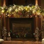 Decoration Ideas Mantel Christmas Decorating