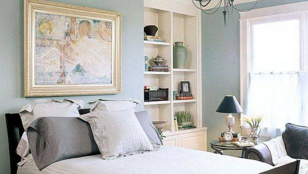 Decoration Pale Blue Green Paint Color Bedroom