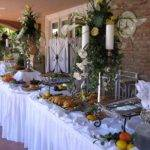 Decorations Christmas Banquet Table Inexpensive
