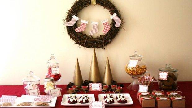 Decorations Christmas Banquet Table Luxury