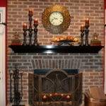 Decorations Decorating Fireplace Mantel Fireplaces
