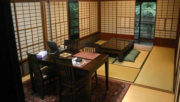 Decorations Japanese Style Home Office Decorating Ideas