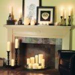 Decorative Fireplace Decorating Candles
